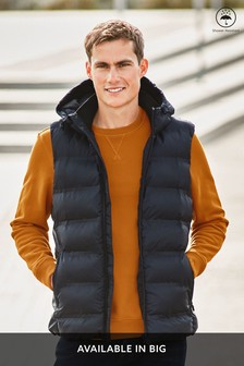 Fleece Lined Hooded Gilet