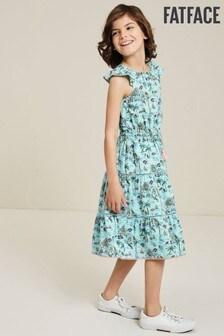 فستان ماكسي Ruby مطبوع Resort أزرق من FatFace