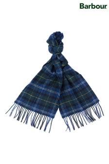 צעיף מצמר כבשים עם משבצות סקוטיותשל Barbour®