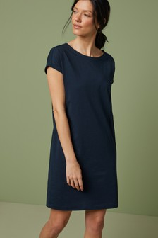 Jersey Boxy T-Shirt Dress