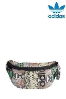 Сумка-кошелек на пояс со змеиным рисунком adidas Originals