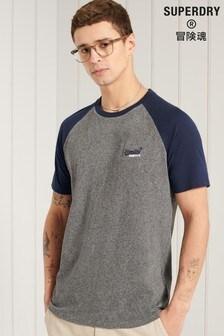 Superdry Orange Label Baseball Raglan T-Shirt