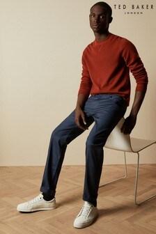 Ted Baker marineblauwe Spice jeans met rechte pijpen