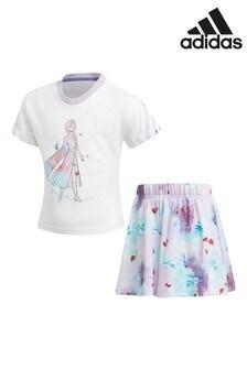 adidas リトルキッズ Disney™ アナと雪の女王 Tシャツ セット