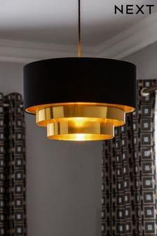 Black Hesper Easy Fit Lamp Shade