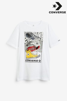 Converse ジュニア スニーカー Tシャツ