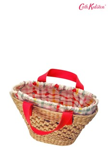 Cath Kidston® Nude Solid Straw Basket