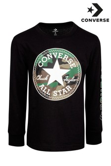 Converse Junior Camo Patch T-Shirt