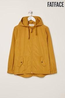 מעיל גשם של FatFace דגם Mila בצהוב