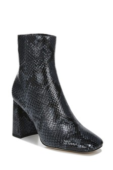 Sam Edelman Codie Blue Snake Print Boots