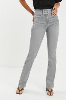 Расклешенные моделирующие джинсы