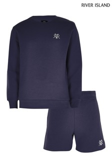 River Island Epp Sweater And Shorts Set