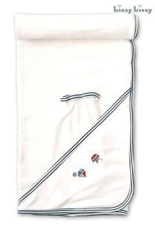 Белое полотенце Kissy Kissy Windjammers