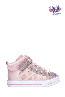 Skechers® Pink Shuffle Lite Adore-A-Ball Trainers