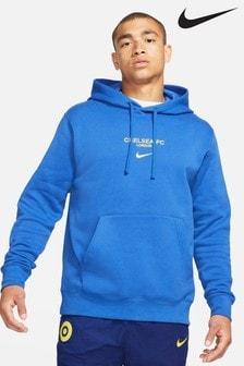 Nike Blue Chelsea Club Hoodie