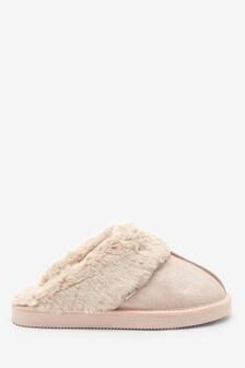 حذاء خف سويد