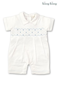 Kissy Kissy White Anchor Playsuit
