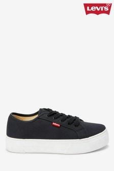 נעלי ספורט עם פלטפורמה של Levi's® Canvas