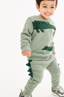 Croc Spikes Sweat Top And Joggers Set (3mths-7yrs)