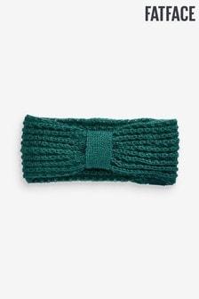 Fat Face Green Crochet Knitted Headband