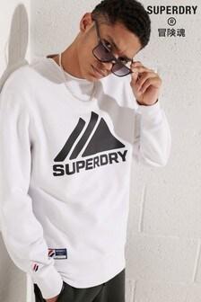Superdry Mountain スポーツ モノトーン クルー スウェットシャツ