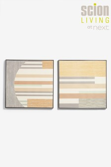 Set of 2 Scion Living Parwa Canvases
