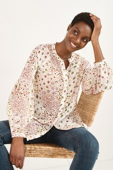 Удлиненная блузка