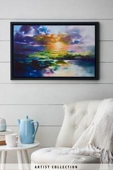 Artist Collection 'Sunset Glare' by Scott Naismith Canvas Art