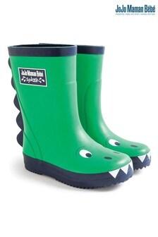 حذاء مطاطي Dino أخضر من JoJo Maman Bébé