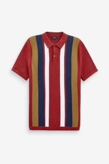 Premium Button Through Polo Shirt