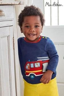 Boden Transport Appliqué T-Shirt