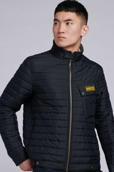 Barbour® International Black Path Padded Quilted Jacket