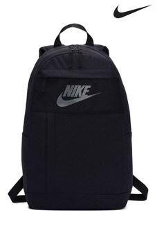 Čierny ruksak s malým logom Nike Elemental