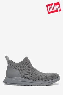 FitFlop™ Grey Max Flexknit Sneakers