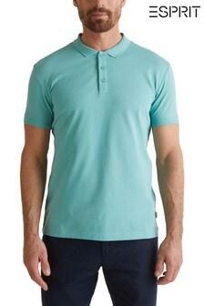 Esprit Green Pique Poloshirt
