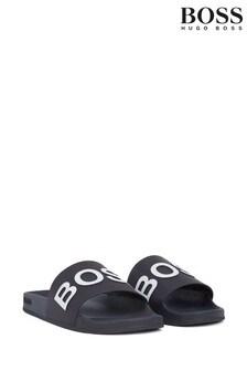 BOSS Blue Sandals