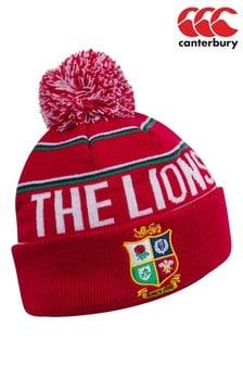 Шапка с помпоном и эмблемой регбийной сборной «Британские и ирландские львы» Canterbury