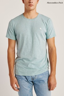 Abercrombie & Fitch Light Blue Icon T-Shirt