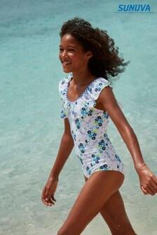 בגד ים Mexicana ללא כתפיות בלבן של Sunuva