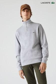 Lacoste® クオーター ジップ セーター