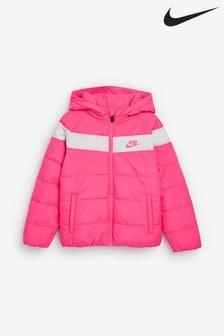 Nike Little Kids Pink Filled Jacket