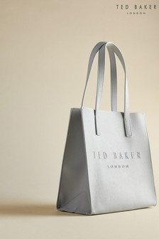 Ted Baker Grey Seacon Crosshatch Small Icon Bag