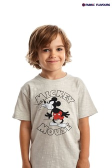 Srebrna koszulka Fabric Flavours Disney Mickey Mouse