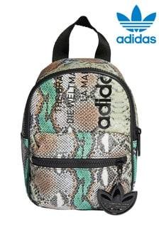 Рюкзак со змеиным принтом adidas Originals (маленький)