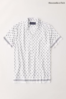 Abercrombie & Fitch White Band Shirt