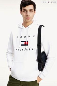Tommy Hilfiger フラッグ ロゴ入りパーカー