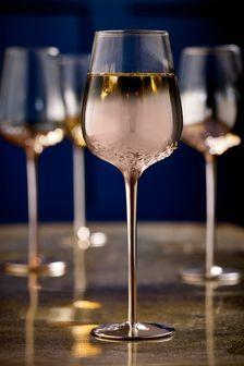 Sada 4 pohárov na víno Monroe