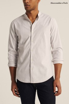 Abercrombie & Fitch Cream Slim Shirt