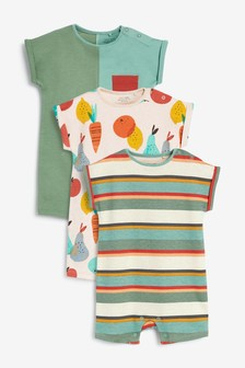 3 Pack Rompers (0mths-3yrs) (214747)   $24 - $27