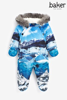 Baker By Ted Baker Scenic Printed Snowsuit